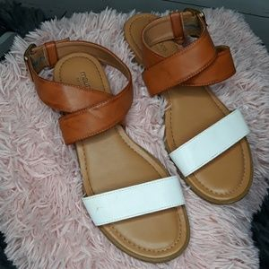Maurices | Aubrey Ankle Strap Neautral Sandals